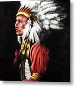 The Chief 2 Metal Print