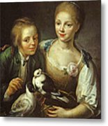 The Children Of The Painter Metal Print