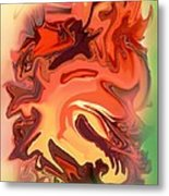 The Chinese Dragon Metal Print