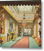 The Chinese Gallery, From Views Metal Print