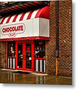 The Chocolate Factory Metal Print