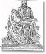 The Christ Metal Print
