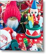 The Christmas Clown II Metal Print