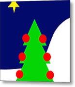 The Christmas Star Metal Print