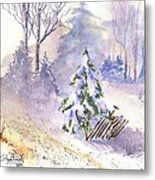 The Christmas Tree Metal Print