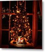 The Christmas Tree Metal Print