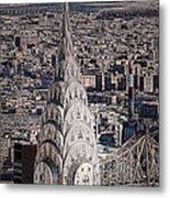 The Chrysler Building Metal Print