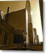 The Chrysler Building In Nyc Metal Print