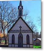 The Church At Billie Creek Metal Print