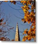 The Church In Goshen Metal Print