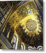 The Church Of Our Savior On Spilled Blood 2 - St. Petersburg - Russia Metal Print