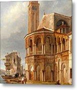 The Church Of Santa Maria E San Donato In Murano Metal Print
