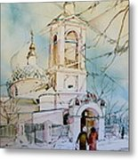 The Church On Sparrow Hill Metal Print