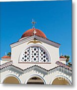 The Church Saints Constantine And Helen Metal Print