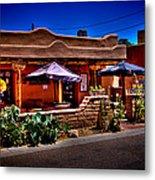 The Church Street Cafe - Albuquerque New Mexico Metal Print