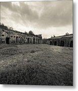 The Citadel At Fort Macomb Metal Print