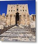 The Citadel In Aleppo Syria Metal Print