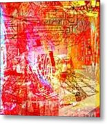 The City 22 Metal Print