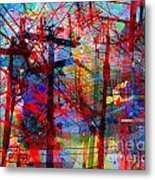 The City 43 Metal Print