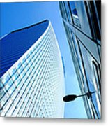 The City Buildings Metal Print