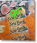 The City Of New York Metal Print
