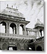 The City Palace Udaipur Metal Print