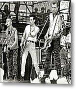 The Clash 1982 Metal Print by Chuck Spang