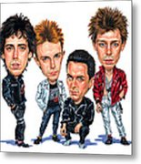 The Clash Metal Print