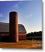 The Clayton Barn Metal Print