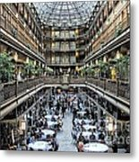 The Cleveland Arcade Metal Print