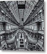 The Cleveland Arcade Viii Metal Print
