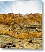 The Cliffs At Torrey Pines San Deigp Metal Print