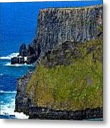 The Cliffs Of Moher In Ireland Metal Print
