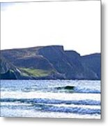The Cliffs Of Western Eire Metal Print
