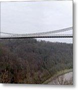 The Clifton Suspension Bridge Metal Print