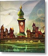The Clock Tower Metal Print