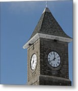The Clock Tower Metal Print by Rhonda Humphreys