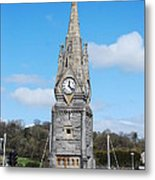 The Clock Tower Waterford Metal Print