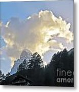 The Cloud Above Metal Print