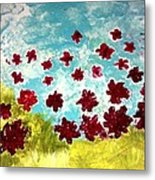 The Cloud Has Lifted Metal Print