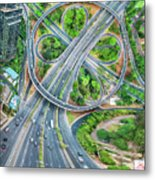 The Clover Interchange (semanggi) Metal Print