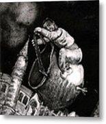 The Coal Scuttle Rider Metal Print