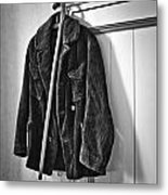 The Coat And The Cane Metal Print