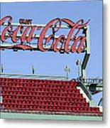 The Coca-cola Corner Metal Print