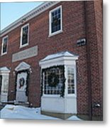The Cold Spring Harbor Firehouse Metal Print