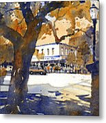 The College Street Oak Metal Print