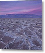 The Color Of Badwater Metal Print by Tony Santo