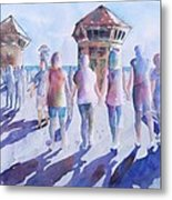 The Color Of Friendship Metal Print