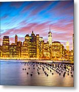 The Color Of New York City Metal Print