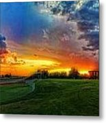 The Color Of Shadle Park Metal Print by Dan Quam